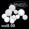 Polarisperlen Polaris Kugeln 20 mm Farbauswahl, 1 Stück - Weiß 00