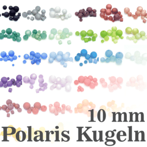 Polarisperlen Polaris Kugeln 10 mm Farbauswahl, 1 Stück