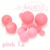 Polarisperlen Polaris Kugeln 20 mm Farbauswahl, 1 Stück - Pink 12