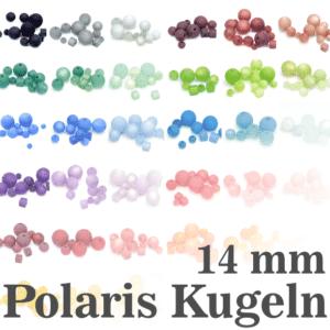 Polarisperlen Polaris Kugeln 14 mm Farbauswahl, 1 Stück