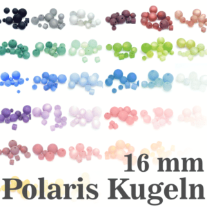 Polaris beads Polaris balls 16 mm color selection, 1 piece