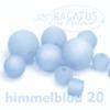 Polarisperlen Polaris Kugeln 20 mm Farbauswahl, 1 Stück - Himmelblau 20
