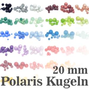 Polaris beads Polaris balls 20 mm color selection, 1 piece
