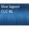 C-Lon Nylongarn 0,5mm | 77 Meter | 1 Rolle (0,05€/m) - blue lagoon