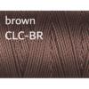 C-Lon Nylongarn 0,5mm | 77 Meter | 1 Rolle (0,05€/m) - brown