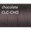 C-Lon Nylongarn 0,5mm | 77 Meter | 1 Rolle (0,05€/m) - chocolate