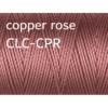 C-Lon Nylongarn 0,5mm | 77 Meter | 1 Rolle (0,05€/m) - copper rose