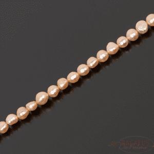 Selezione di pepite di perle d'acqua dolce rosa, 1 filo