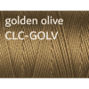 C-Lon Nylongarn 0,5mm | 77 Meter | 1 Rolle (0,05€/m) - golden olive