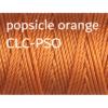 C-Lon Nylongarn 0,5mm | 77 Meter | 1 Rolle (0,05€/m) - popsicle orange