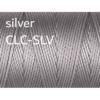 C-Lon Nylongarn 0,5mm | 77 Meter | 1 Rolle (0,05€/m) - silver