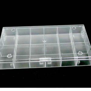 Sortierbox Perlenbox mit 18 Fächern 19,5x10x3cm