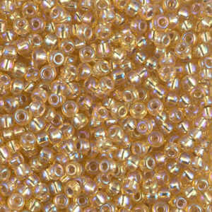 Miyuki Rocailles 8-1003 silverlined gold AB 9,9g