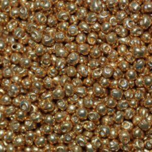 Miyuki Rocailles 8-4202 duracoat galvanized gold 9.9g