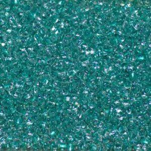 Miyuki Berry Beads Farfalle BB-1528 aqua green lined crystal 5g