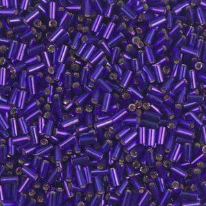 Miyuki Stiftperlen BGL1-1427 dyed silverlined dark violet 5g