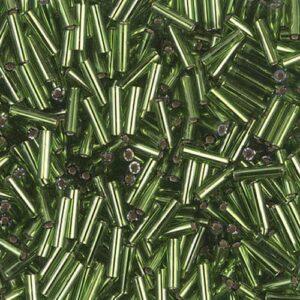 Miyuki Stiftperlen BGL2-026 silverlined olive 5g