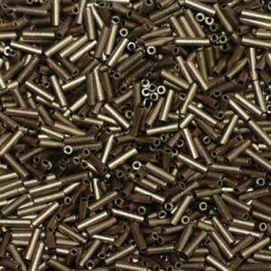 Miyuki pen beads BGL2-2006 matt metallic dark bronze 5g