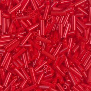 Miyuki Stiftperlen BGL2-408 opaque red 5g