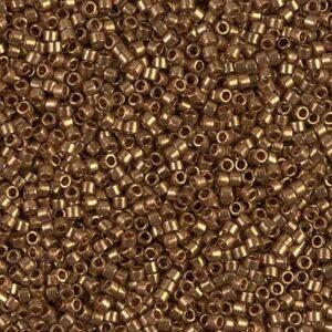 Delica Beads von Miyuki DB0115 dark topaz gold luster 5g