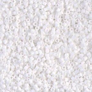 Delica Beads von Miyuki DB0200 white 5g