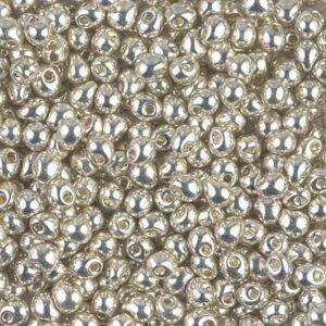 Drop Beads von Miyuki DP-181 galvanized silver 5g
