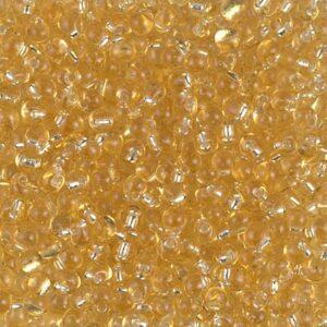 Drop Beads von Miyuki DP28-3 silverlined gold 5g