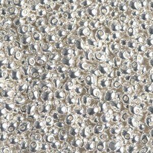Drop Beads von Miyuki DP28-961 bright sterling plated 5g