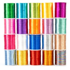 Garn bunter Mix 0,8mm, 1 Packung (0,01€/M)