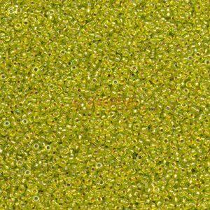 Miyuki Rocailles 11-1014 chartreuse argentato AB 9,9 g