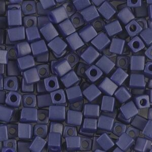 Miyuki Würfel SB-1253 matte metallic royal blue 5g