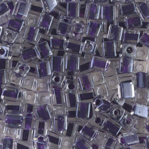 Miyuki Würfel SB-223 grape lined crystal 5g