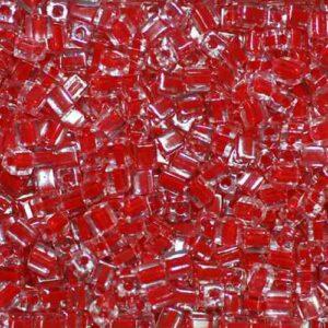 Miyuki Würfel SB-226 cherry lined crystal 5g