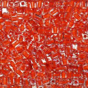 Miyuki Würfel SB-236 orange lined crystal 5g