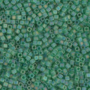Miyuki Cube SB18-146FR matt transparent green AB 5g
