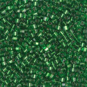 Miyuki Würfel SB18-16 silverlined green 5g