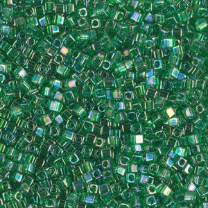 Miyuki Cube SB18-179 transparent green AB 5g