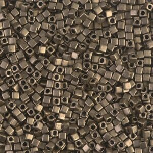 Miyuki Würfel SB18-2006 matte metallic dark bronze 5g