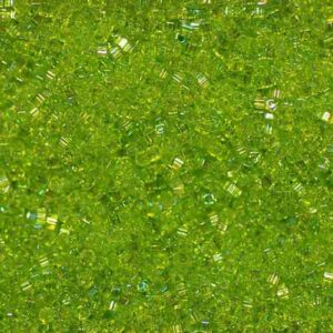 Miyuki Würfel SB18-258 transparent chartreuse AB 5g