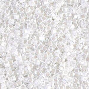 Miyuki Würfel SB18-420 white pearl ceylon 5g