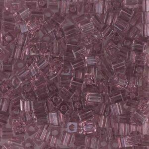 Miyuki Würfel SB3-142 transparent smoky amethyst 5g