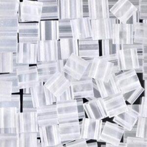Miyuki Tila Perlen TL-131F matte crystal 5g