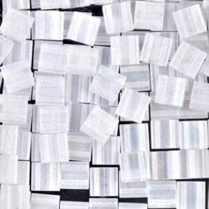 Miyuki Tila Perlen TL-131FR matte crystal AB 5g