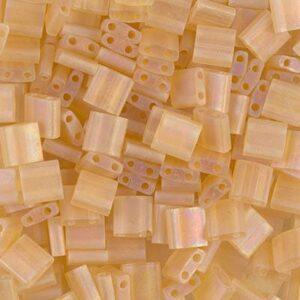 Perles Miyuki Tila TL-132FR topaze claire transparente mate AB 5g