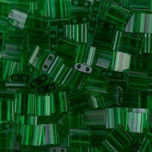 Miyuki Tila Perlen TL-146 transparent green 5g
