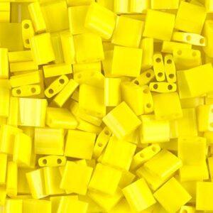 Miyuki Tila perle TL-404 giallo opaco 5g