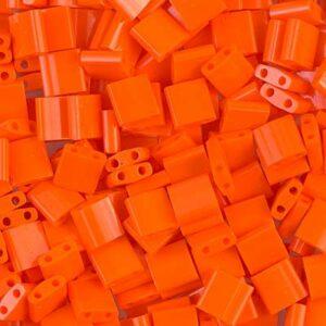 Miyuki Tila Perlen TL-406 opaque orange 5g