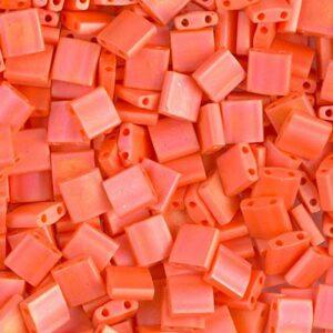 Miyuki Tila Perlen TL-406FR matte opaque orange AB 5g