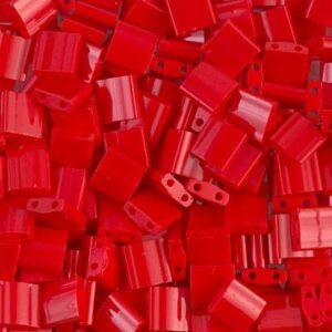 Miyuki Tila Perlen TL-408 opaque red 5g
