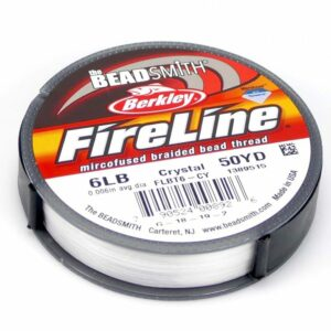 Fire Line 6LB Fädelmaterial crystal 0,12mm 45 Meter